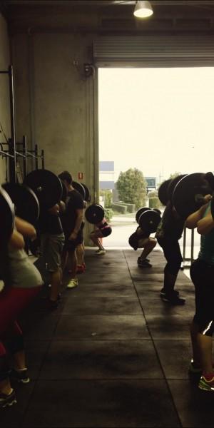 lots of back squats