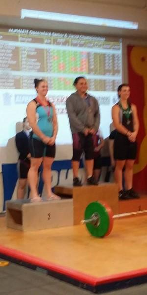 Renee QLD Championships