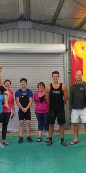 Sunshine Coast weightlifting comp