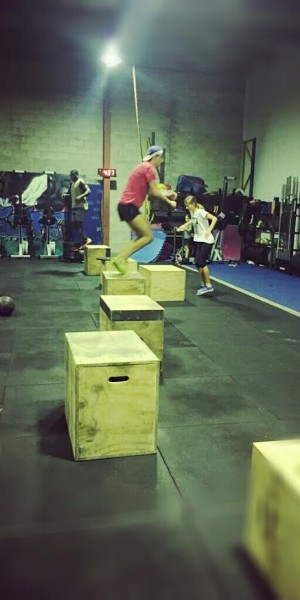 box jump overs